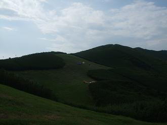 山伏峠パラフィールドでのフライト、クリックでムービーが動きます。