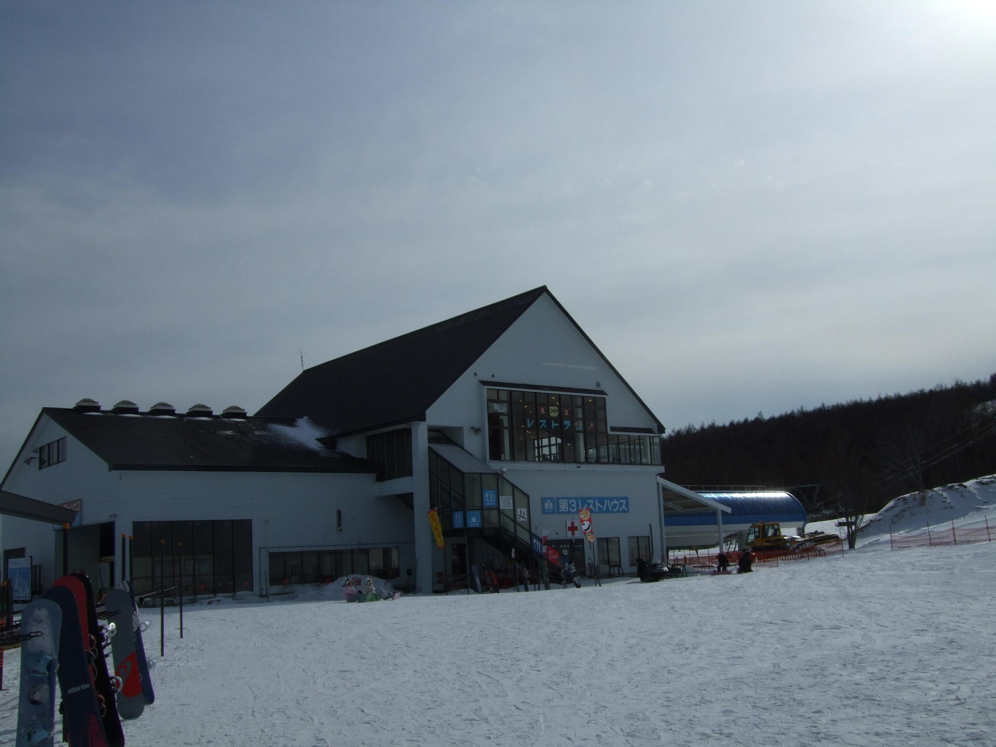 羽鳥湖スキー場、クリックするとムービーが動きます。</