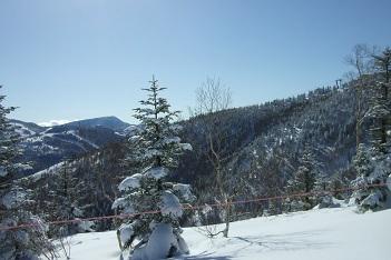 2014年12月末、2014年3月末の志賀高原